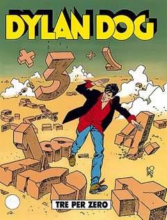 Copertina DYLAN DOG n.125 - Tre per zero, BONELLI EDITORE