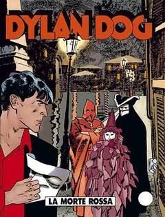 Copertina DYLAN DOG n.126 - La Morte Rossa, BONELLI EDITORE