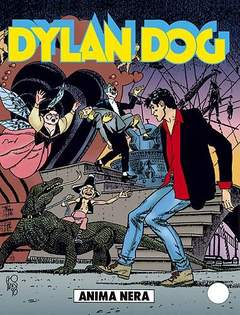 Copertina DYLAN DOG n.142 - Anima nera, BONELLI EDITORE