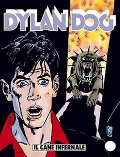 Copertina DYLAN DOG n.145 - Il cane infernale, BONELLI EDITORE