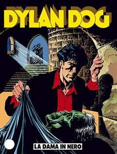 Copertina DYLAN DOG n.17 - La Dama in Nero, BONELLI EDITORE