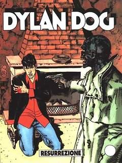 Copertina DYLAN DOG n.204 - Resurrezione, BONELLI EDITORE