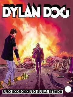 Copertina DYLAN DOG n.276 - Uno sconosciuto sulla strada, BONELLI EDITORE