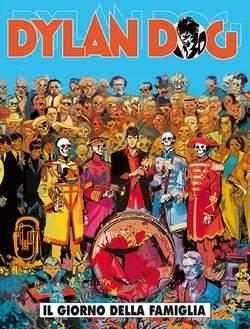 Copertina DYLAN DOG n.366 - IL GIORNO DELLA FAMIGLIA, BONELLI EDITORE