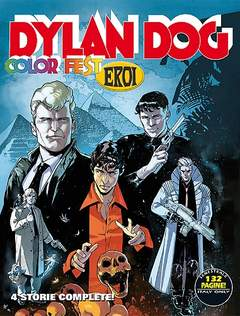 Copertina DYLAN DOG COLOR FEST n.12 - Dylan Dog Color Fest 12, BONELLI EDITORE