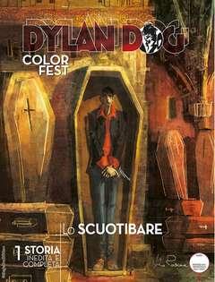 Copertina DYLAN DOG COLOR FEST n.21 - LO SCUOTIBARE, BONELLI EDITORE