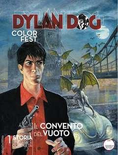 Copertina DYLAN DOG COLOR FEST n.23 - IL CONVENTO DEL VUOTO, BONELLI EDITORE