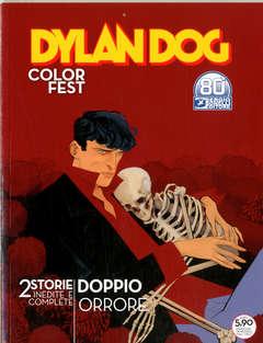 Copertina DYLAN DOG COLOR FEST n.37 - L'AMICO DI SANDRA/LA FOSSA DEGLI ANGELI, BONELLI EDITORE