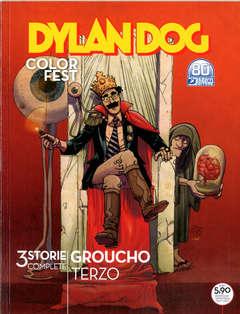 Copertina DYLAN DOG COLOR FEST n.38 - IL BAMBINO DEI BASKERVILLE/GROUCHO PROFONDO/UN GRO, BONELLI EDITORE