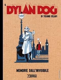 Copertina DYLAN DOG DI TIZIANO SCLAVI n.4 - MEMORIE DALL'INVISIBILE, BONELLI EDITORE