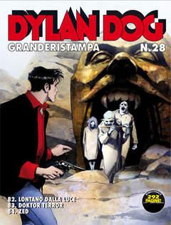 Copertina DYLAN DOG GRANDE RISTAMPA n.28 - Doktor Terror, BONELLI EDITORE