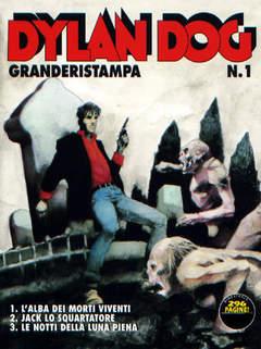 Copertina DYLAN DOG GRANDE RISTAMPA n.1 - L'alba dei morti viventi, BONELLI EDITORE