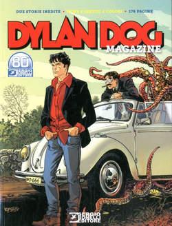 Copertina DYLAN DOG MAGAZINE n.7 - 2021, BONELLI EDITORE