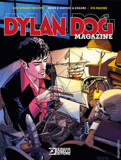 Copertina DYLAN DOG MAGAZINE n.4 - Dylan Dog Magazine 2018, BONELLI EDITORE