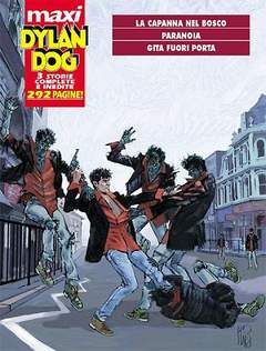 Copertina DYLAN DOG MAXI n.14 - Paranoia, BONELLI EDITORE