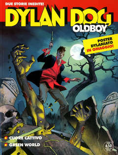 Copertina DYLAN DOG MAXI n.40 - CUORE CATTIVO/GREEN WORLD, BONELLI EDITORE