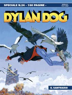 Copertina DYLAN DOG SPECIALE n.24 - Il santuario, BONELLI EDITORE