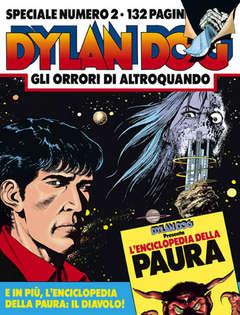 Copertina DYLAN DOG SPECIALE n.2 - Gli orrori di Altroquando, BONELLI EDITORE