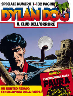 Copertina DYLAN DOG SPECIALE n.1 - Il Club dell'Orrore, BONELLI EDITORE