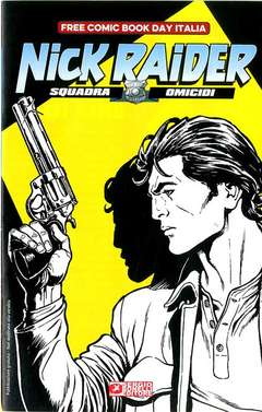 Copertina FREE COMIC BOOK DAY ITALIA '20 n. - NICK RAIDER, BONELLI EDITORE
