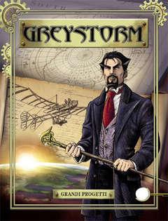 Copertina GREYSTORM n.1 - Grandi progetti, BONELLI EDITORE