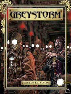 Copertina GREYSTORM n.9 - Padrone del mondo, BONELLI EDITORE