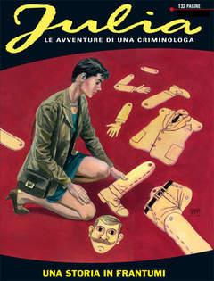 Copertina JULIA n.143 - Una storia in frantumi, BONELLI EDITORE