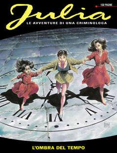 Copertina JULIA n.16 - L'ombra del tempo, BONELLI EDITORE