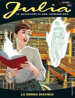 Copertina JULIA n.231 - LA DONNA DEL DIAVOLO, BONELLI EDITORE