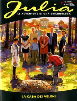 Copertina JULIA n.256 - L'ARTE DEL DELITTO, BONELLI EDITORE