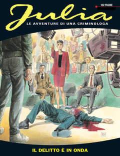 Copertina JULIA n.38 - Il delitto è in onda, BONELLI EDITORE