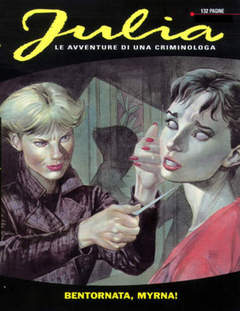 Copertina JULIA n.39 - Bentornata Myrna!, BONELLI EDITORE