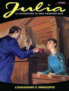 Copertina JULIA n.62 - L'assassino è innocente, BONELLI EDITORE