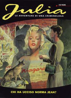Copertina JULIA n.68 - Chi ha ucciso Norma Jean?, BONELLI EDITORE