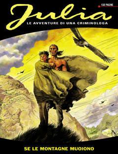 Copertina JULIA n.8 - Se le montagne muoiono, BONELLI EDITORE