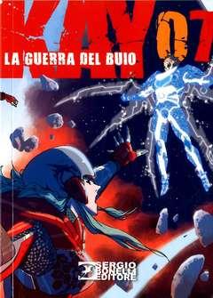 Copertina KAY LA GUERRA DEL BUIO (m10) n.7 - KAY - LA GUERRA DEL BUIO, BONELLI EDITORE