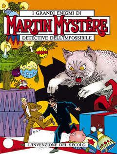 Copertina MARTIN MYSTERE n.117 - L'invenzione del secolo, BONELLI EDITORE