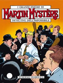 Copertina MARTIN MYSTERE n.118 - Schermo diabolico, BONELLI EDITORE