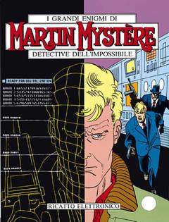 Copertina MARTIN MYSTERE n.119 - Ricatto elettronico, BONELLI EDITORE