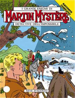 Copertina MARTIN MYSTERE n.125 - Neve d'Agosto, BONELLI EDITORE