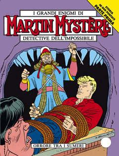 Copertina MARTIN MYSTERE n.126 - Orrore tra i Sumeri, BONELLI EDITORE