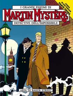 Copertina MARTIN MYSTERE n.129 - Aria di Baker Street, BONELLI EDITORE