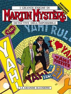 Copertina MARTIN MYSTERE n.131 - La grande illusione, BONELLI EDITORE