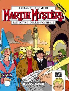 Copertina MARTIN MYSTERE n.148 - Decameron!, BONELLI EDITORE