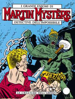 Copertina MARTIN MYSTERE n.18 - Le creature dell'abisso, BONELLI EDITORE