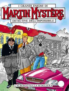 Copertina MARTIN MYSTERE n.195 - L'albergo sulla scogliera, BONELLI EDITORE