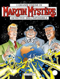 Copertina MARTIN MYSTERE n.213 - La fine?, BONELLI EDITORE