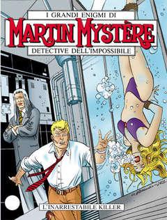 Copertina MARTIN MYSTERE n.229 - L'inarrestabile killer, BONELLI EDITORE
