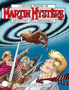 Copertina MARTIN MYSTERE n.235 - Minaccia dal passato, BONELLI EDITORE