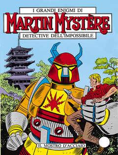 Copertina MARTIN MYSTERE n.26 - Il mostro d'acciaio, BONELLI EDITORE